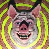 Porco moldado em argila!