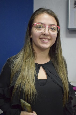 Amanda Duarte estudante de publicidade e propaganda do quinto semestre