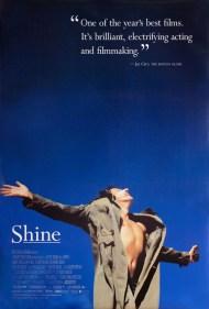 """Poster do filme """"Shine"""""""