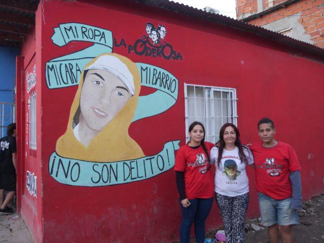 Antonela Yñiguez, Alejandra Díaz y Marcos Basualdo forman parte del Control Popular.