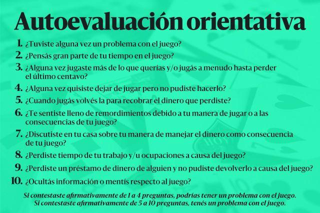 Fuente: Programa de Prevención y Asistencia al Juego Compulsivo de la Provincia de Buenos Aires.
