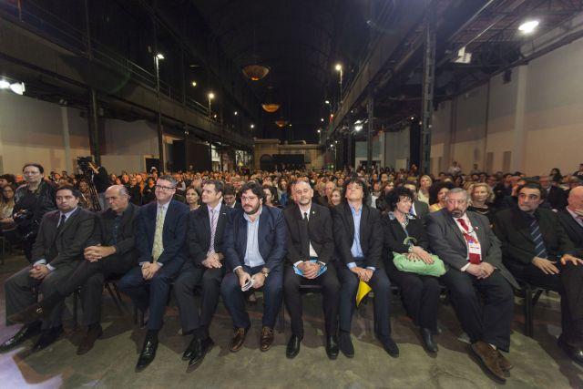 En la inauguración de la Feria del año pasado, Pablo Avelluto se sentó junto a Martín Gremmelspacher. Los dos dieron discursos cruzados.