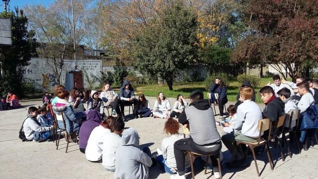 Un secundario de Santa Fe revalorizó el trabajo en equipo de los alumnos.