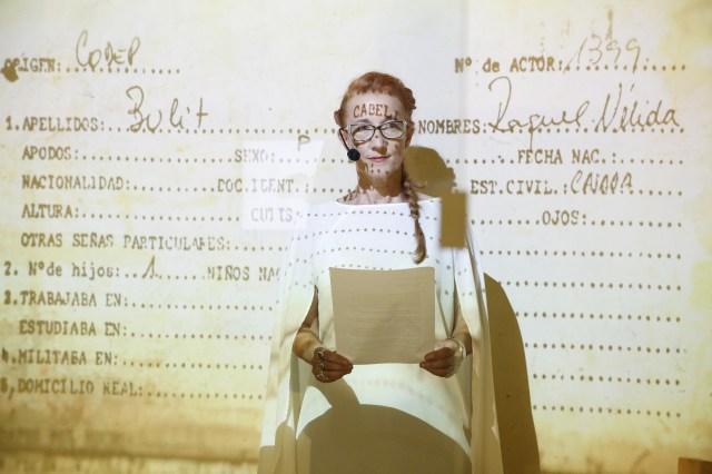 La cantante Celsa Mel Gowland participó de una visita en la que fueron representadas las mujeres de la Iglesia de la Santa Cruz, secuestradas en 1977.