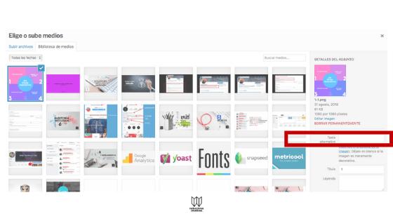 Cómo insertar atributo ALT a imágenes para mejorar SEO en tu blog