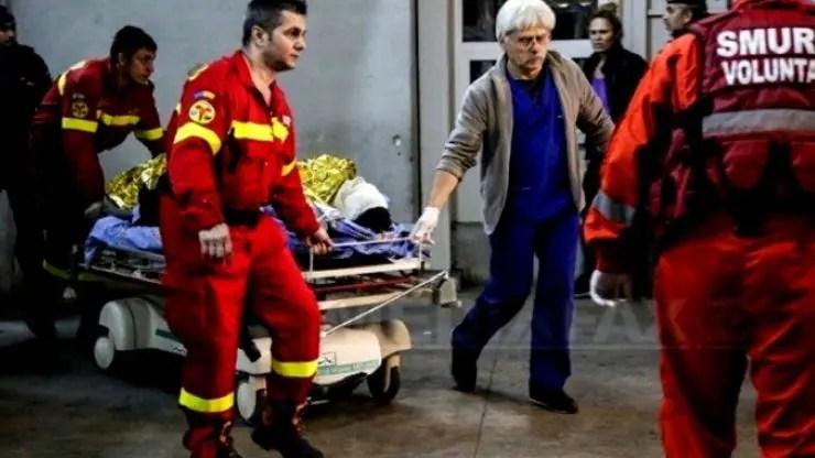 Pacientul ars din Constanța a ajuns în Belgia cu rănile necurățate