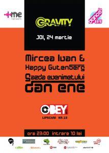 Party GRAVITY @ OBEY CLUB
