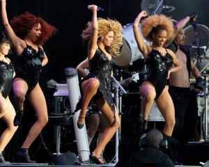 Beyonce zguduie T in the Park
