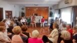 02- Raquel Levy Recitó su poema Sembremos la paz
