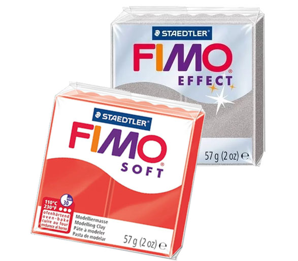 Fimo Soft et Fimo Effect
