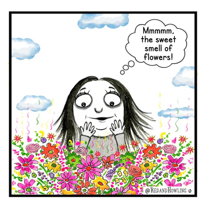 redandhowling_smell2