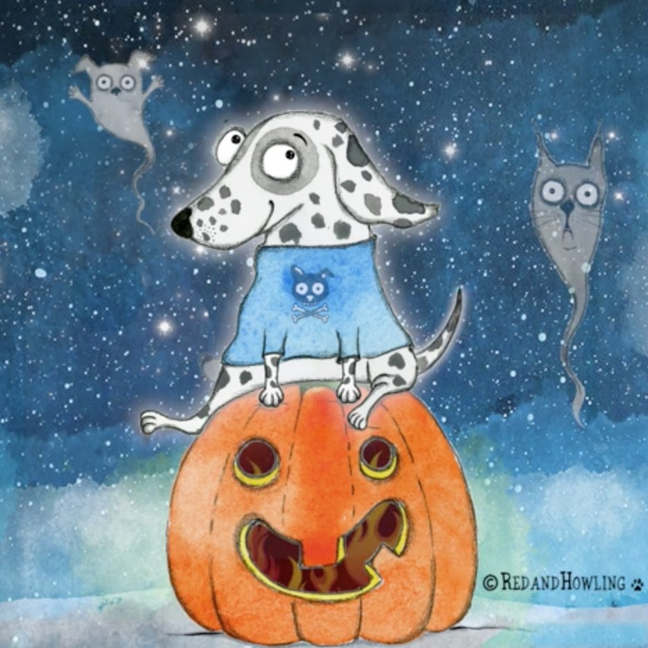 Haunted Pumpkin Patch - the GIF!