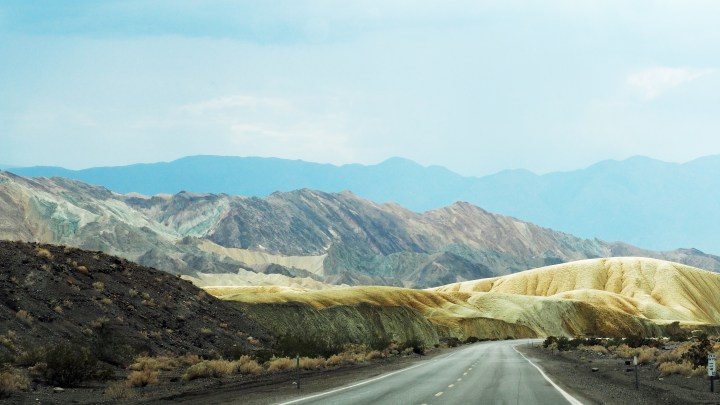 A Drive though Death Valley