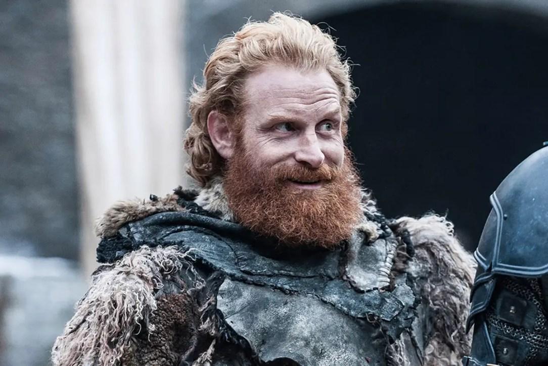 kristofer hivju playing Tormund in Game of Thrones