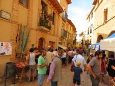 Mercado agroecológico en la Calle Mayor