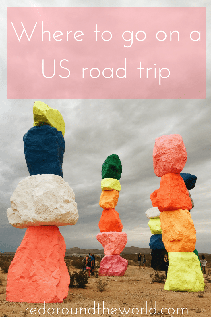 Where to goon a US road trip