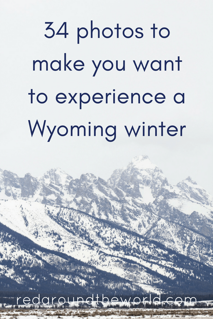 34 photos to make you want to experience a Wyoming winter