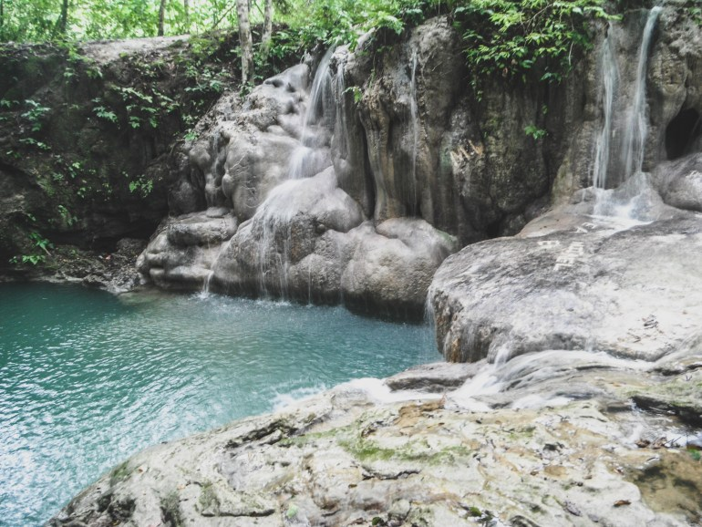 monkey falls belize