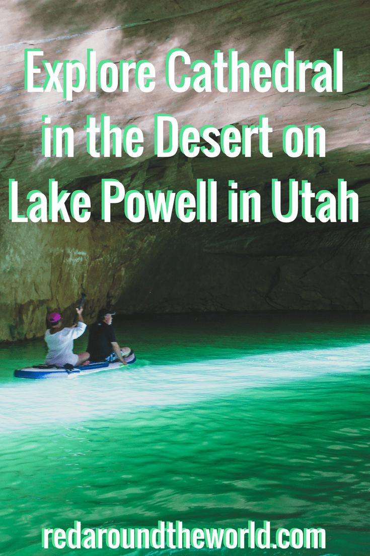 Explore Cathedral in the Desert on Lake Powell in Utah