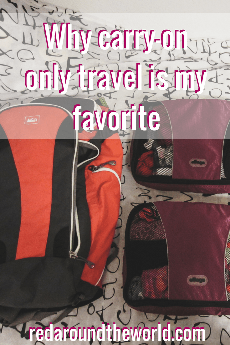 Why carry-on only travel is my favorite