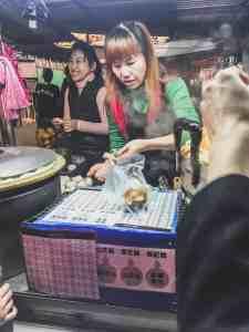 night market taipei taiwan