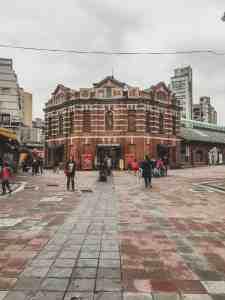 red brick building ximending taipei taiwan