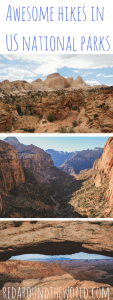 Best hikes in national parks around the US