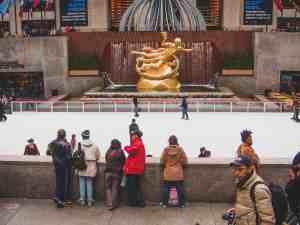 ice skating rink new york city