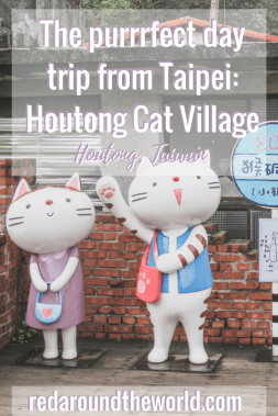 Explore Houtong cat village in Taiwan
