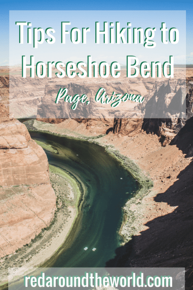 Tips For Hiking to Horseshoe Bend in Page Arizona