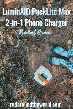 This LuminAID PackLite Max 2-in-1 Phone Charger review will help you decide if a LuminAID is right for you. It's perfect for camping and hiking. LuminAID lantern review.