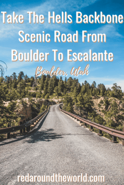 Take The Hells Backbone Scenic Road From Boulder To Escalante