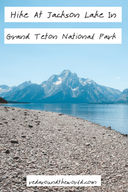 Hiking at Jackson Lake in Grand Teton National Park is a must-do activity. Kayaking on Jackson Lake is great for a new perspective of the Tetons.