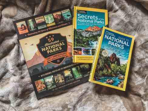 National park books