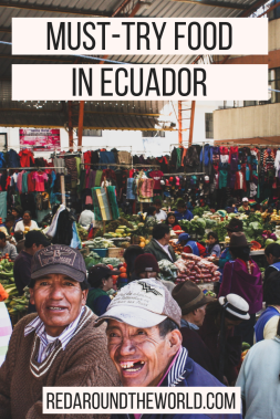 This will help you find some popular food in Ecuador. Knowing what to eat in a new place can be intimidating, but this list of Ecuadorian food will help. What to eat in Ecuador. These are some popular foods in ecuador.