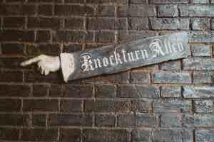 knockturn alley diagon alley wizarding world of harry potter universal orlando harry potter
