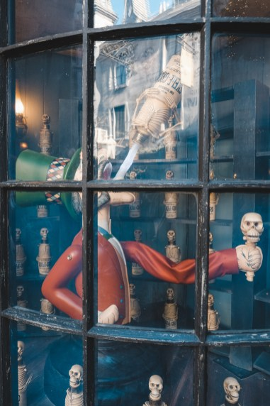 skele grow diagon alley wizarding world of harry potter universal orlando harry potter