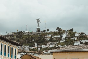 angel statue quito ecuador