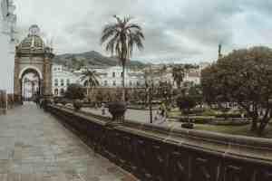 Plaza grande quito ecuador