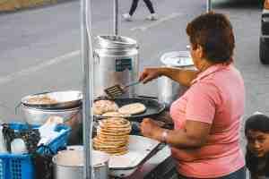 empanadas street food in ecuador