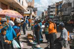 market in riobamba ecuador