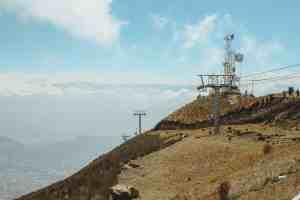 Teleferico cable car in Quito Ecuador