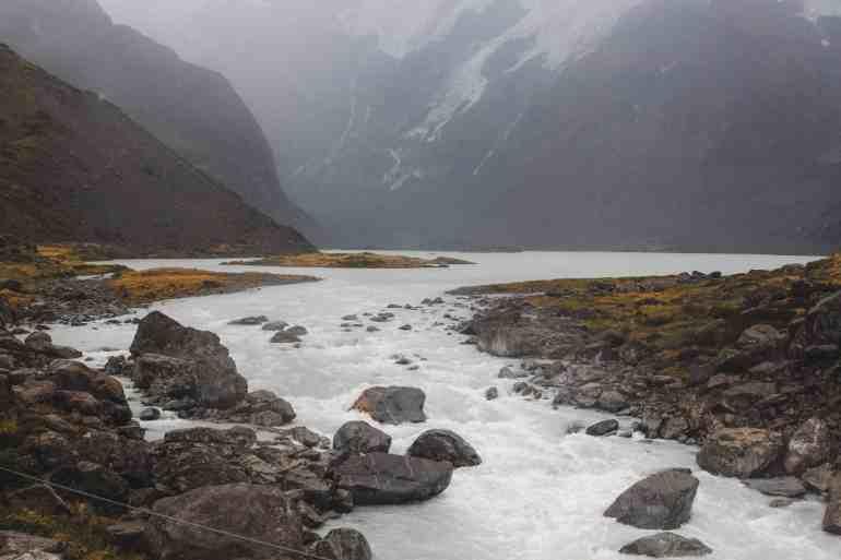 Mt Cook national park new zealand