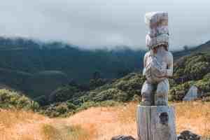 maori statue new zealand
