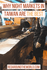 Some of the best food to try in Taiwan can be found at it's night markets. Taiwanese street food is a must-try. These are the best night market in Taiwan. Visiting the night markets in Taiwan will be one of the best parts of a trip to Taiwan. They're great for budget travel in Taiwan no matter what part of the country you visit.