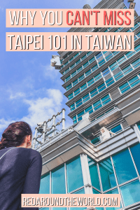 Taipei 101 is a must-see Taipei tourist attraction. Go to the Taipei 101 observatory or visit the Starbucks in Taipei 101. It's a great thing to do in Taiwan.