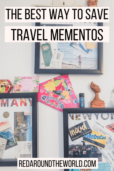 Don't know what to do with all of your little travel mementos like tickets, money, and pictures? This guide will help you make a travel shadow box with them! This makes for great travel decor for your home or office. Travel shadow boxes are fun and easy to make.