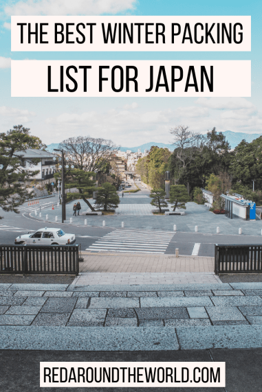 This is the perfect packing list for Taiwan in the winter. It's also the perfect Japan winter packing list. I will help you plan what to pack for Taiwan. This is a great packing list for Japan and will help you decide what to pack for Japan.