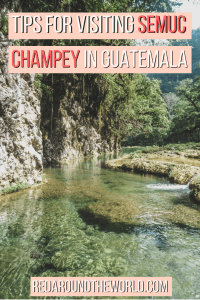Semuc Champey is one of the best things to do in Guatemala. Between Flores and Antigua you'll find the emerald pools. You can visit semuc champey with a tour or you can visit semuc champey on your own. Either way, this will help you plan a trip to Semuc Champey.