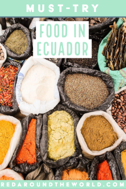 This will help you find some popular food in Ecuador. Knowing what to eat in Ecuador can be intimidating, but this list of Ecuadorian food will help. Ecuador travel | Ecuadorian food | what to eat in Ecuador | Ecuador vacation | Ecuador things to eat